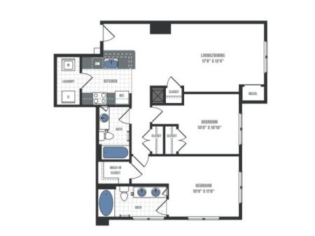 Floor Plan 16 | Eastside Flats