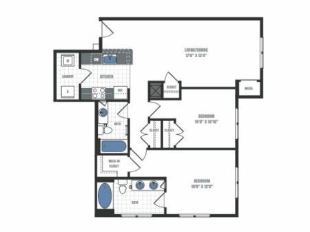 Floor Plan 18 | Eastside Flats