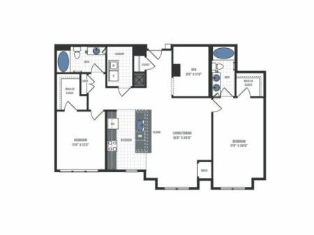 Floor Plan 20 | Eastside Flats