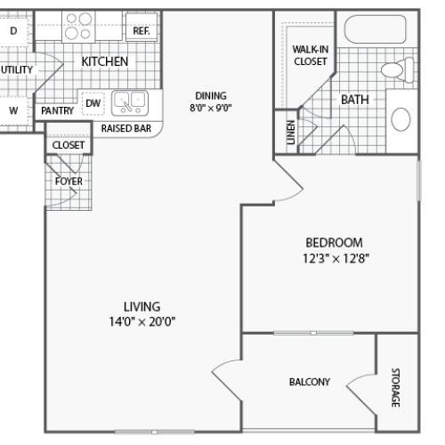 Prairie Creek Apartments: 2 Bed / 2 Bath Apartment In Grand Prairie TX