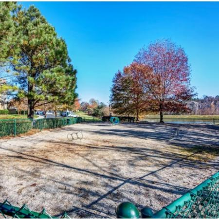 Sand Volleyball Court | Durham NC Apartments For Rent | Lodge at Southpoint Apartments