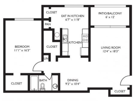 One Bedroom - Renovated