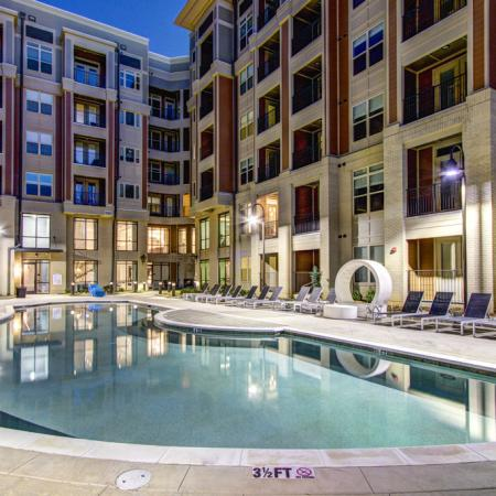 Swimming Pool | Apartments Charlotte NC | LaVie SouthPark 1