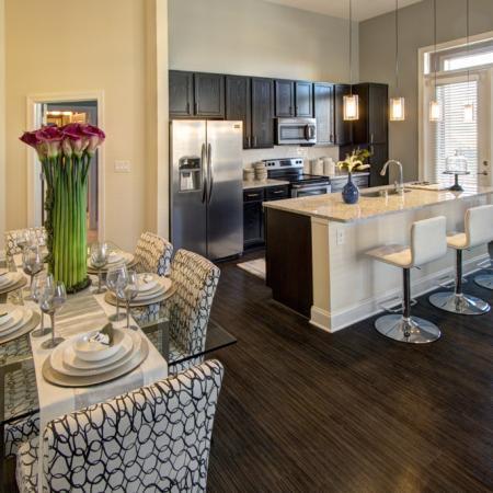 Modern Kitchen | Charlotte North Carolina Apartments | LaVie SouthPark