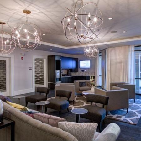 Luxurious Living Area | Apartments In Charlotte | LaVie SouthPark