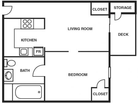 One Bedroom (Handicap Accessible)