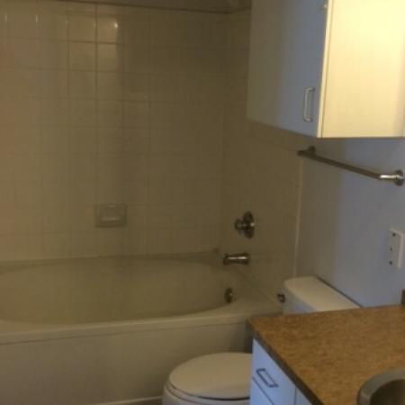 Elegant Master Bathroom | Apartments Dallas, TX | 5225 Maple Avenue Apartments