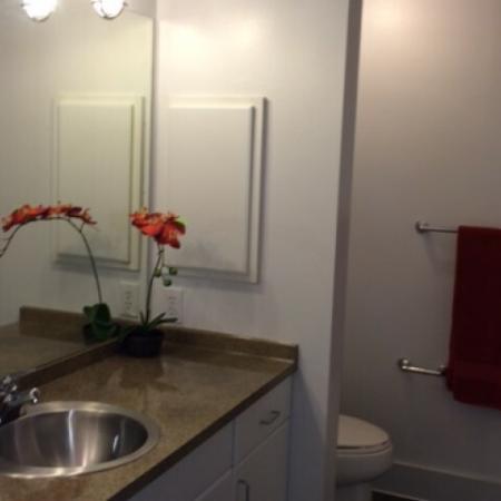 Elegant Bathroom | Apartments in Dallas, TX | 5225 Maple Avenue Apartments