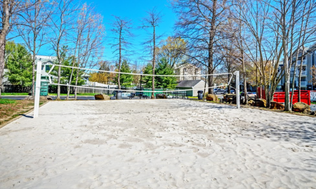 Sand Volleyball Court | Centreville VA Apartments For Rent | Bent Tree