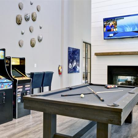 Community Game Room | Apartments for rent in Atlanta, GA | Aspire Lenox Park