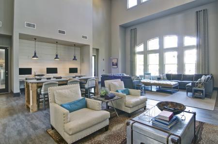 Resident Study Lounge | Apartment Homes in Atlanta, GA | Aspire Lenox Park