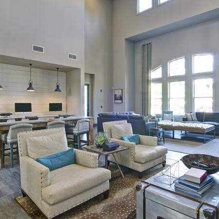 Resident Study Lounge | Apartment Homes in Atlanta, GA | Aspire Lenox Park