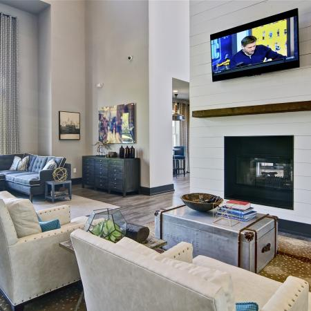 Community Media Room | Apartments Atlanta, GA | Aspire Lenox Park