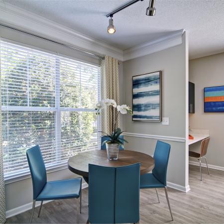 Elegant Dining Room | Atlanta GA Apartments For Rent | Aspire Lenox Park