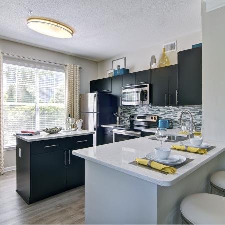 Modern Kitchen | Atlanta GA Apartment For Rent | Aspire Lenox Park