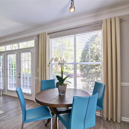 Luxurious Dining Room | Atlanta GA Apartments | Aspire Lenox Park