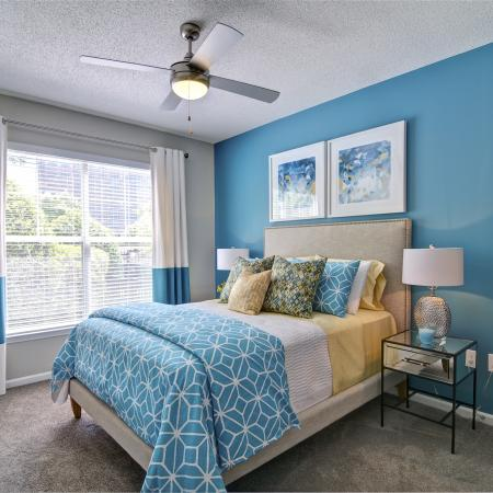 Spacious Master Bedroom | Apartments Homes for rent in Atlanta, GA | Aspire Lenox Park