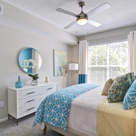 Elegant Master Bedroom | Apartments Atlanta, GA | Aspire Lenox Park