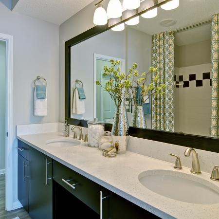 Elegant Master Bathroom | Apartments Atlanta, GA | Aspire Lenox Park