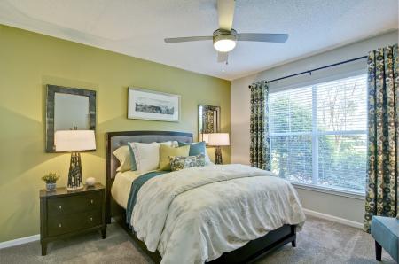 Spacious Bedroom | Atlanta GA Apartment Homes | Aspire Lenox Park