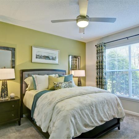 Spacious Bedroom | Atlanta GA Apartment Homes | Aspire Lenox Park