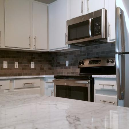 Residents Cooking in the Kitchen   Apartments Homes for rent in Austin, TX   404 Rio Grande