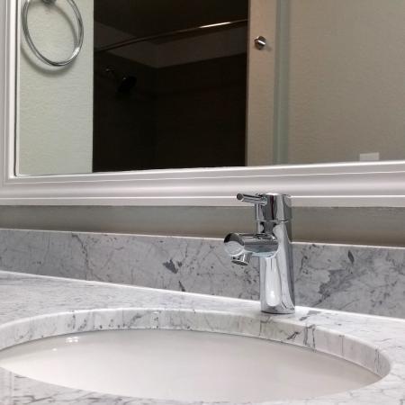 Spacious Master Bathroom | Apartments Homes for rent in Austin, TX | 404 Rio Grande