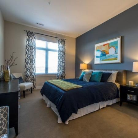 Luxurious Master Bedroom | Apartment in Medford, MA | Lumiere