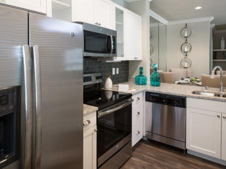 Modern Kitchen | Apartments Dallas Tx | Grapevine Twenty Four 99 Apartments