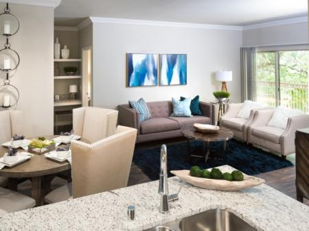 Luxurious Living Room | Apartments In Grapevine | Grapevine Twenty Four 99 Apartments