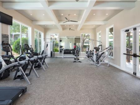 Resident Fitness Center | Grapevine Apartment | Grapevine Twenty Four 99 Apartments