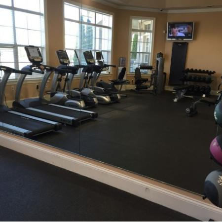 State-of-the-Art Fitness Center | Apartment Homes in Knightdale, NC | Greystone at Widewaters