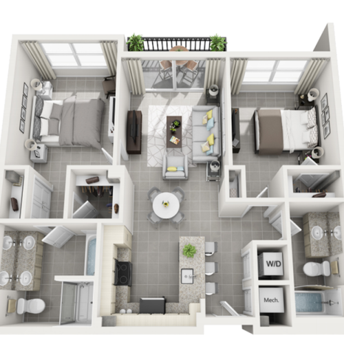 Paraiso at Fountain Square