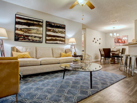 Luxurious Living Room | Apartment Homes in Nashville, TN | Bellevue West