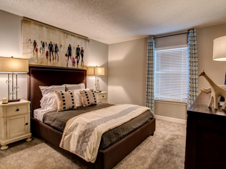 Spacious Master Bedroom | Apartments Homes for rent in Nashville, TN | Bellevue West