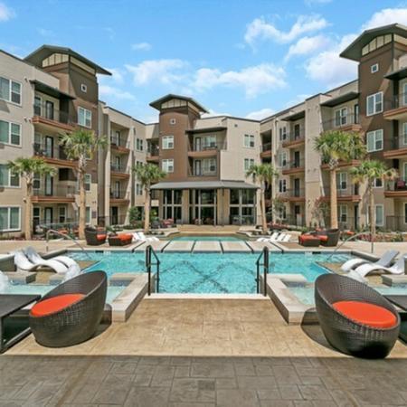 Sparkling Pool | Apartments for rent in Las Colinas, TX | Alexan Las Colinas