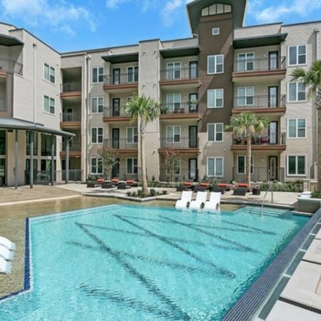 Swimming Pool | Apartment Homes in Las Colinas, TX | Alexan Las Colinas