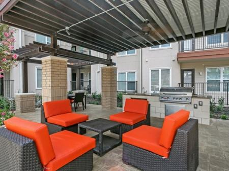 Resident Sun Deck | Las Colinas TX Apartment For Rent | Alexan Las Colinas