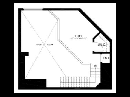 2 bed/2 bath Loft B9