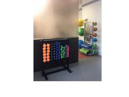 Free Weights of variable sizes at Monterey Pointe Fitness Center l Kissimmee Apt