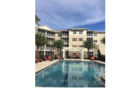Lap Swimming Pool l Monterey Pointe Apartments in Kissimmee, FL