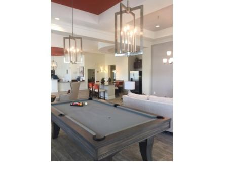 Billiards Lounge with couch and additional seating areas l Monterey Pointe