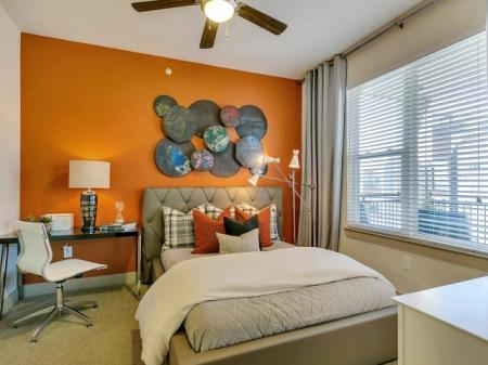 Spacious Bedroom | Las Colinas TX Apartment Homes | Alexan Las Colinas