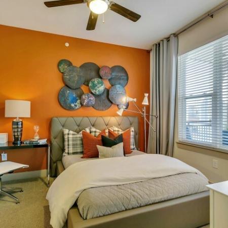Spacious Bedroom | Las Colinas TX Apartment Homes | Alexan Las Colinas