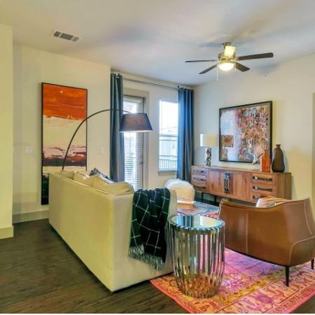 Spacious Living Area | Apartments Homes for rent in Las Colinas, TX | Alexan Las Colinas