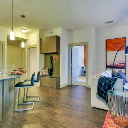 Spacious Living Room | Apartments in Las Colinas, TX | Alexan Las Colinas