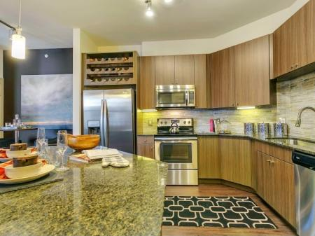 State-of-the-Art Kitchen | Las Colinas TX Apartment Homes | Alexan Las Colinas