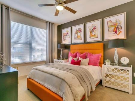 Spacious Master Bedroom | Apartments Homes for rent in Las Colinas, TX | Alexan Las Colinas