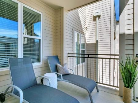 Spacious Apartment Balcony | Las Colinas TX Apartments For Rent | Alexan Las Colinas