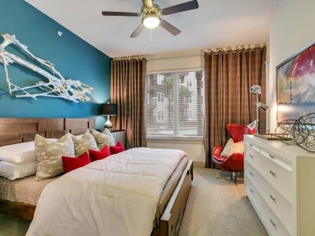 Luxurious Bedroom | Apartments in Las Colinas, TX | Alexan Las Colinas